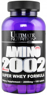 Аминокислоты Ultimate Nutrition Amino 2002 (100 таб)